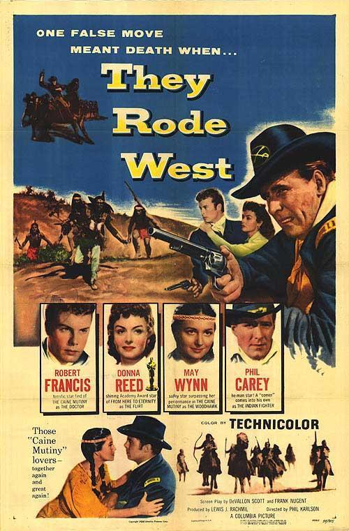 Rumbo al Oeste (1954)
