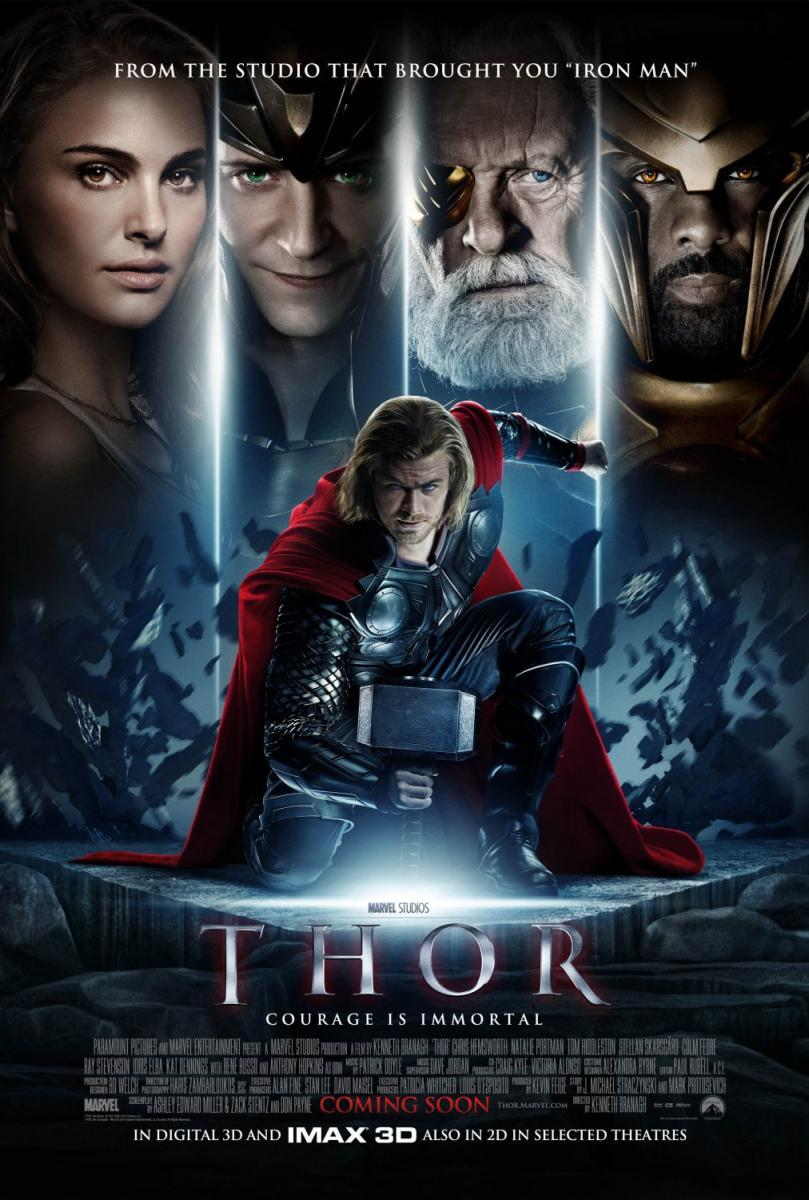 Thor (2011) BRRip 1080p Latino – Ingles