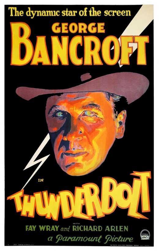 Rick Bancroft Professional Makeup Artist: Thunderbolt (1929)