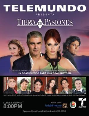 Tierra de pasiones (Serie de TV)