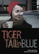 Tiger Tail in Blue