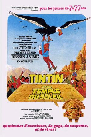 Tintin and the Temple of the Sun (Seven Crystal Balls and the Prisoners of the Sun)