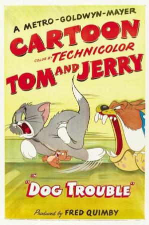 Tom y Jerry: Problema canino (Perro peligroso) (C)