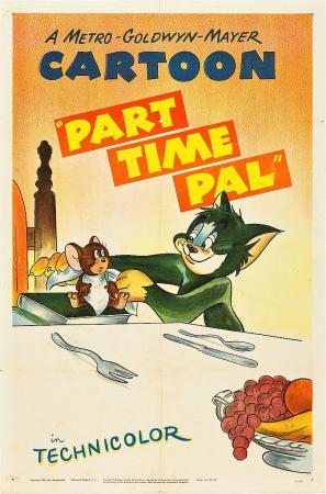 Tom y Jerry: Amigo de medio tiempo (C)