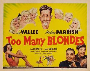 Too Many Blondes