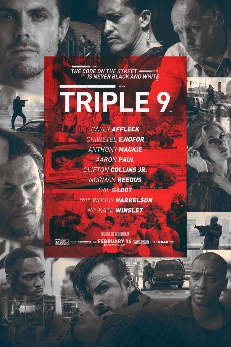 película, cine, triple 9, thiriller, acción, robos y atracos, policíaco, blog de cine, solo yo, blog solo yo, blogger Alicante,