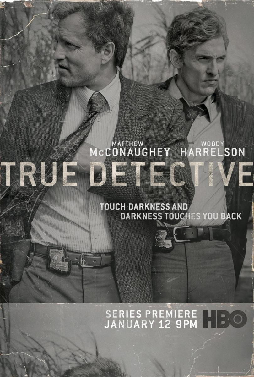 Afiche de la primera temporada de True Detective