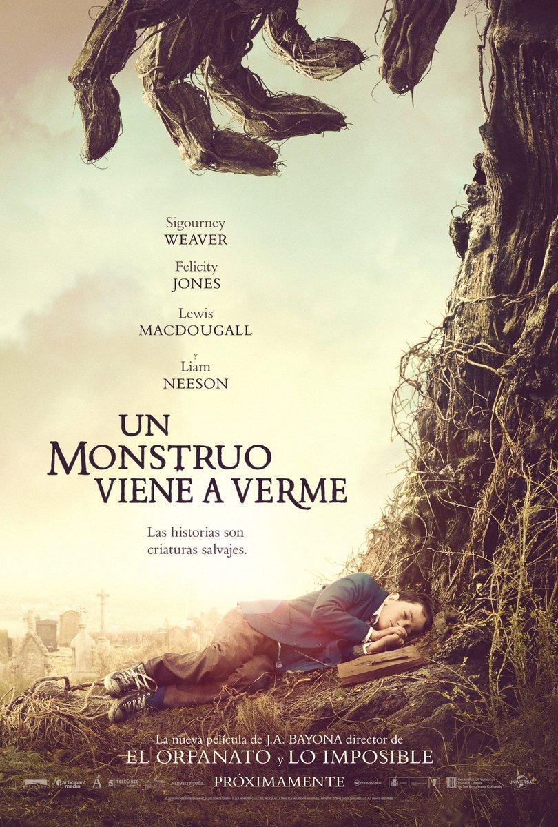 póster de la película Un monstruo viene a verme