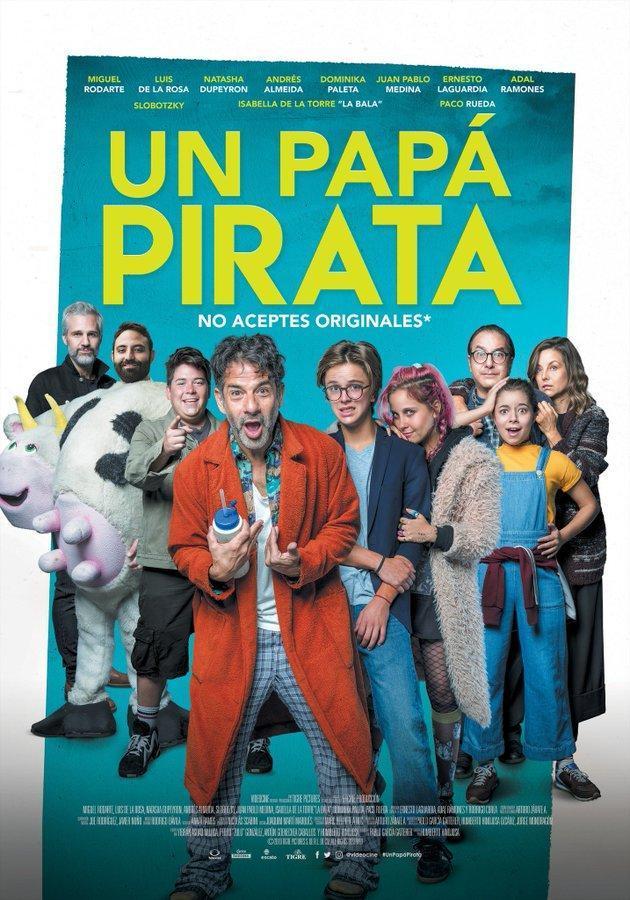 Un Papa Pirata [2019][Es Mexicano][1080p][MG]