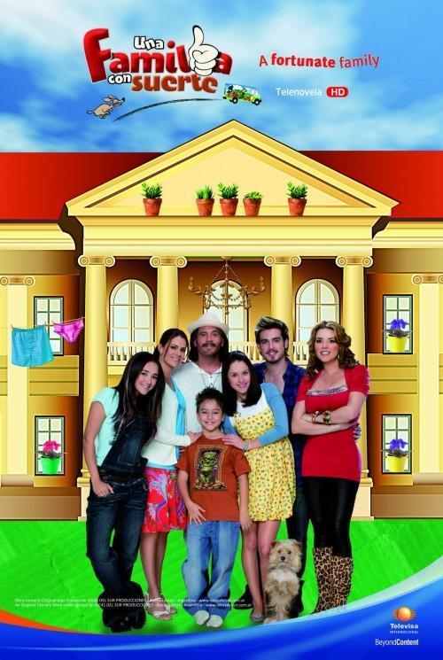 Ver Una familia con suerte Online