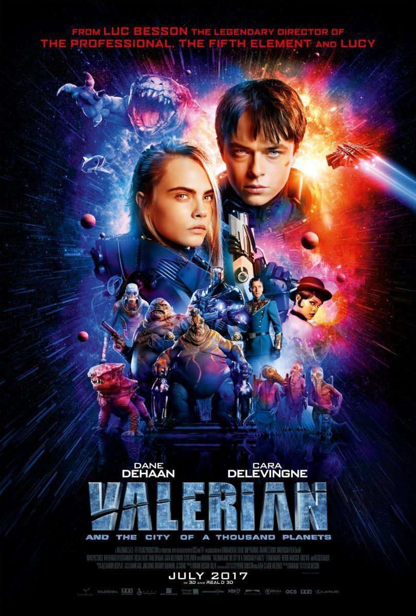 Valerian y la ciudad de los mil planetas (2017) HD Latino Gratis