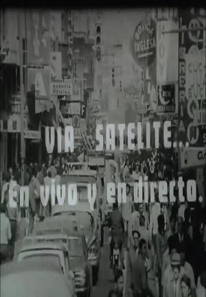 Vía satélite… En vivo y en directo (C)