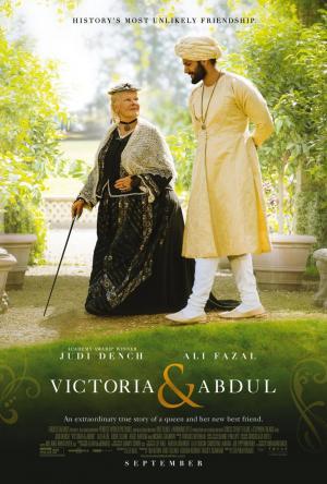 póster de la película histórica La reina Victoria y Abdul