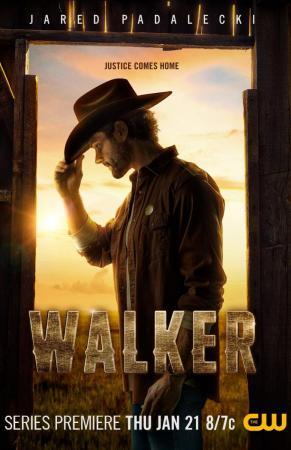 Основной постер сериала Уокер
