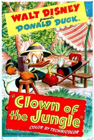 Pato Donald: Payaso de la selva (C)