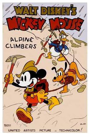 Mickey Mouse: Los alpinistas (C)