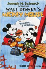 Walt Disney's Mickey Mouse: Building a Building (C)