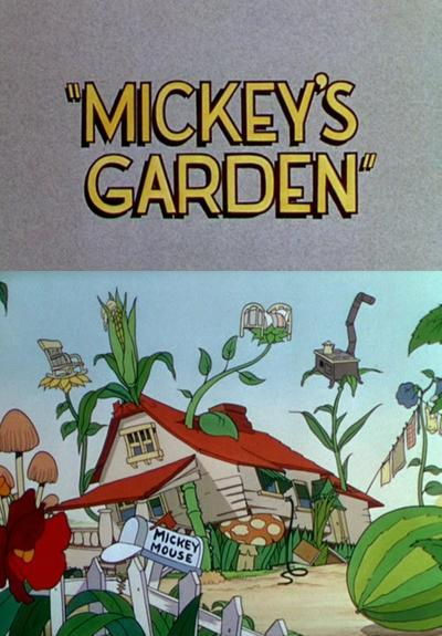 Mickey mouse el jard n de mickey c 1935 filmaffinity for Jardin walt disney