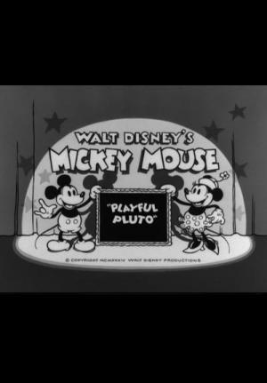 Mickey Mouse: El travieso Pluto (C)