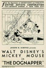 Walt Disney's Mickey Mouse: The Dognapper (C)