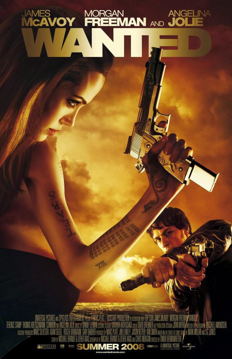 póster de la película wanted (se busca)