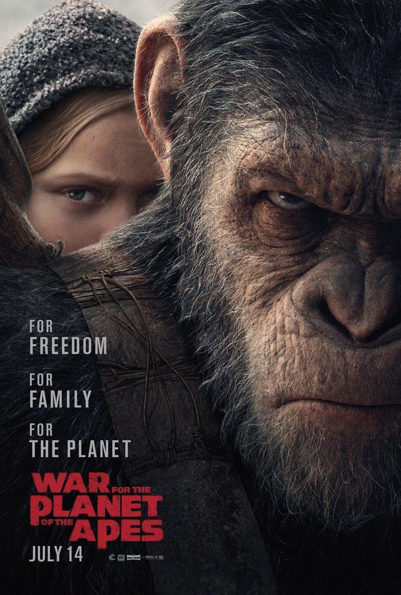 Resultado de imagen para el planeta delos simios la guerra