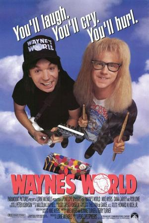 Wayne's world ¡Qué desparrame!
