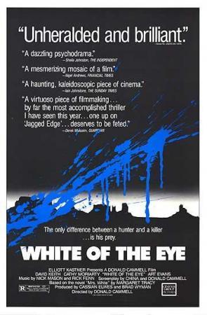 El blanco del ojo