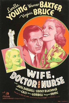 Esposa, doctor y enfermera