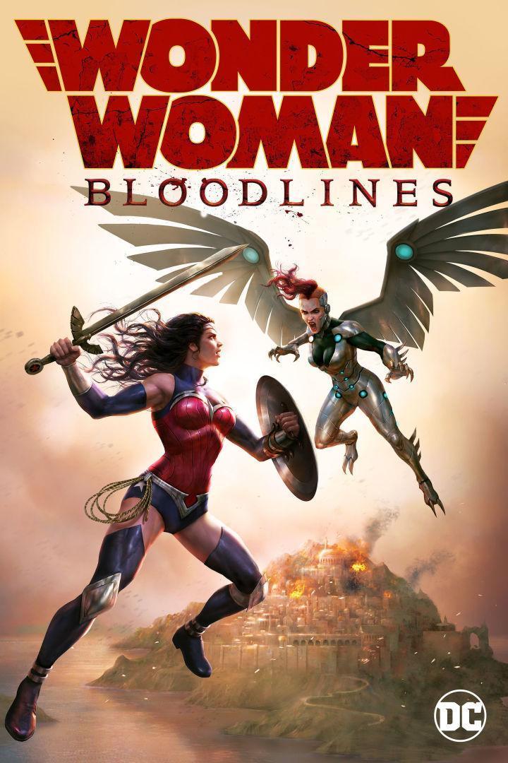 La Mujer Maravilla: Linajes de sangre [2019][Latino][1080p][MEGA]
