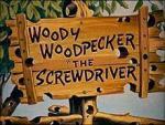 Woody Woodpecker: The Screwdriver (C)