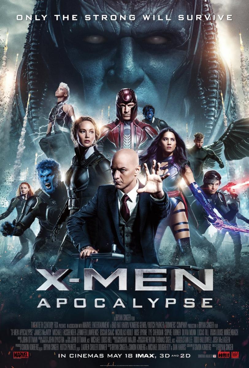cine, película, X-men: Apocalipsis, X-men: Apocalypse, #NosVAmosAlCine, Bryan Singer, Ciencia Ficcción, X-men, acción, años 80, secuela, superhéroes, comic, marvel, marvel comics, blog de cine, solo yo, blog solo yo,