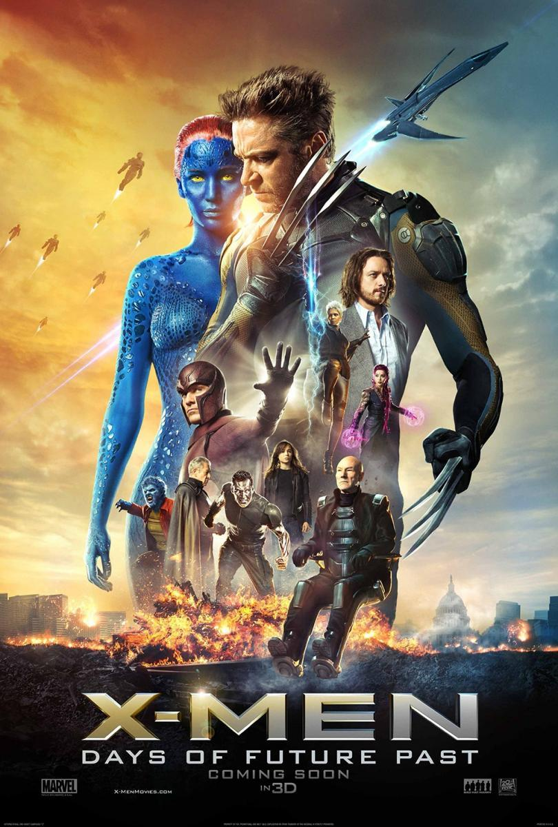 X-Men: Días Del Futuro Pasado (2014) BRRip 720p Latino – Ingles