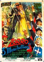 El Zorro y los tres mosqueteros